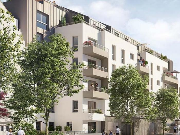 Appartements neufs Longchamp rond-point-de-vannes référence 5335 : aperçu n°0