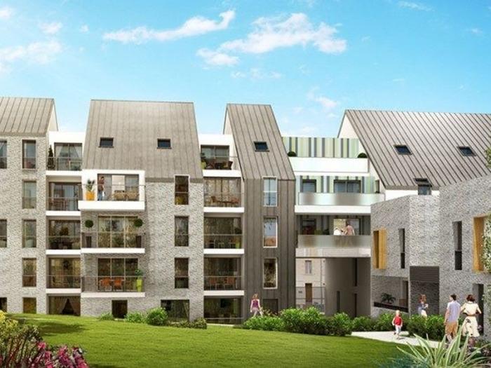 Appartements neufs Hauts pavés Saint-Félix référence 5405 : aperçu n°0