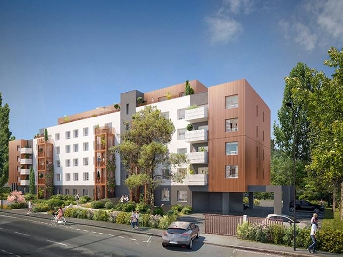 Appartements neufs Hippodrome Petit Port référence 5332 : aperçu n°0