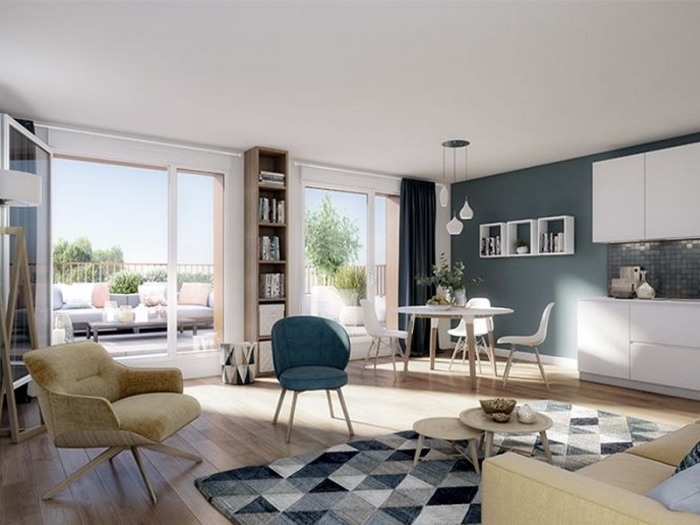 Appartements neufs Hippodrome Petit Port référence 5332 : aperçu n°1