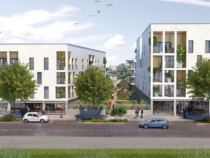 Appartements neufs Hippodrome Petit Port référence 5453 : aperçu n°3