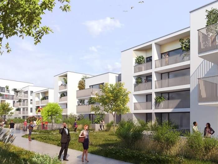 Appartements neufs Hippodrome Petit Port référence 5453 : aperçu n°4