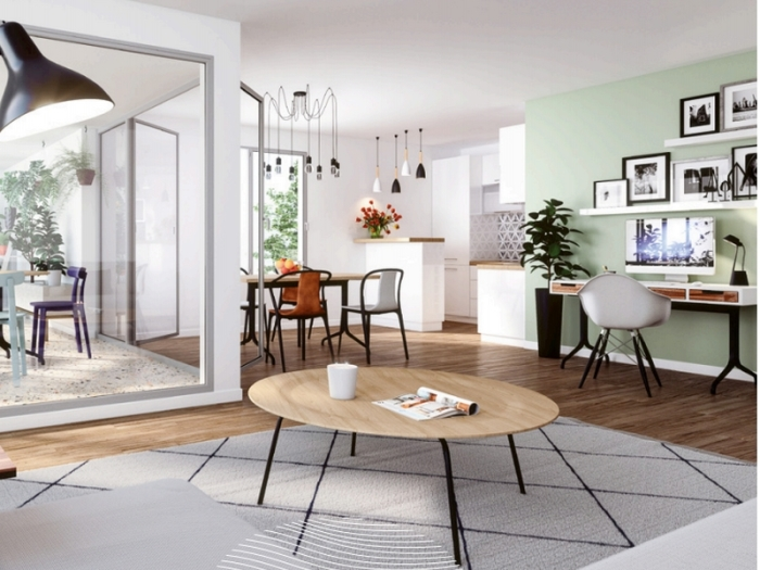 Appartements neufs Erdre référence 5380 : aperçu n°1