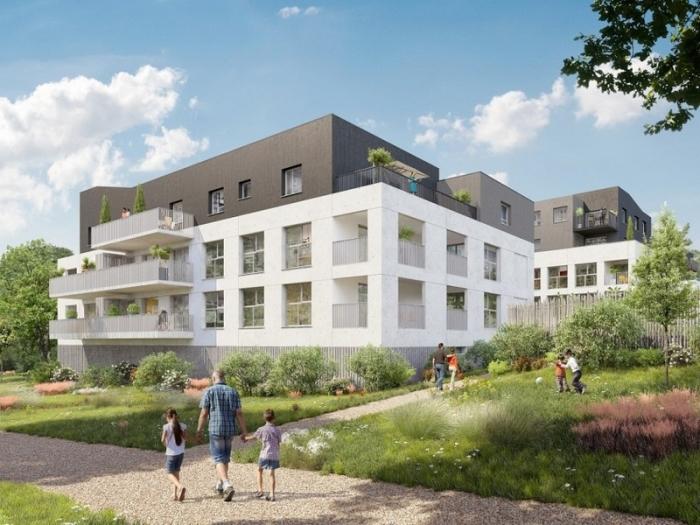 Appartements neufs La Chapelle-sur-Erdre référence 5616 : aperçu n°0