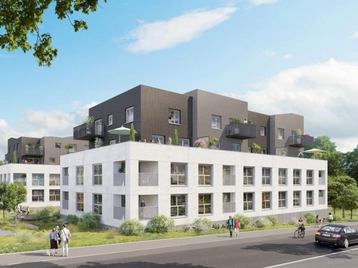 Appartements neufs La Chapelle-sur-Erdre référence 5616 : aperçu n°2