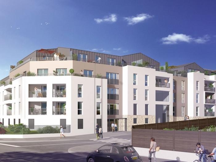 Appartements neufs Saint-Herblain référence 5333 : aperçu n°0