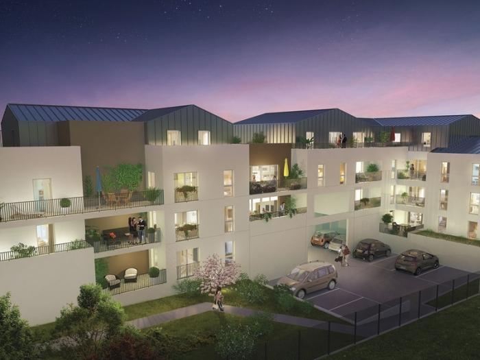 Appartements neufs Saint-Herblain référence 5333 : aperçu n°3