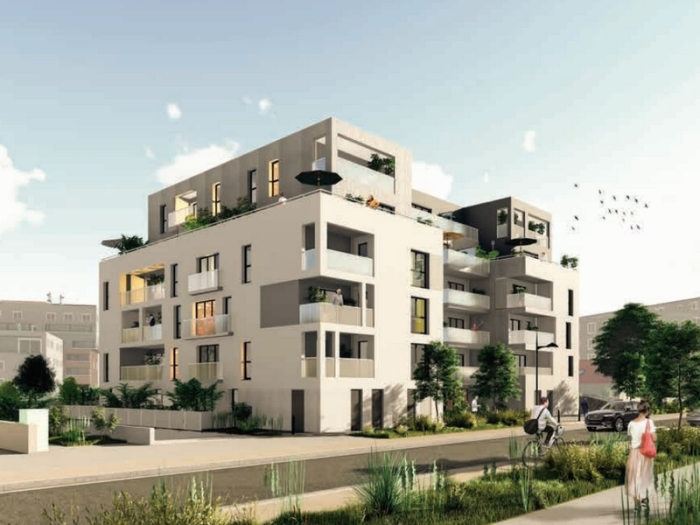 Appartements neufs Saint-Herblain référence 5329 : aperçu n°0