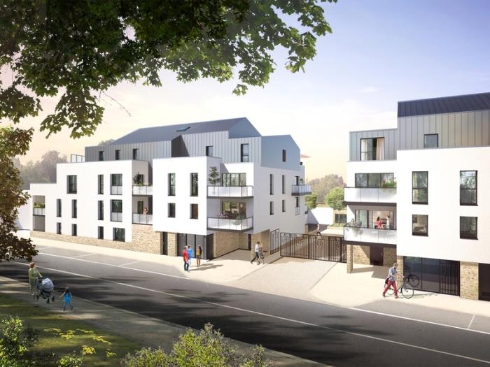 Appartements neufs Couëron référence 5404 : aperçu n°0