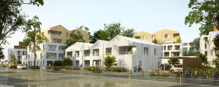 Appartements neufs Les Sorinières référence 5304 : aperçu n°2
