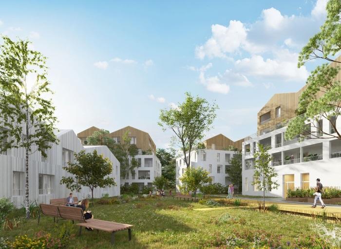 Appartements neufs Les Sorinières référence 5304 : aperçu n°3
