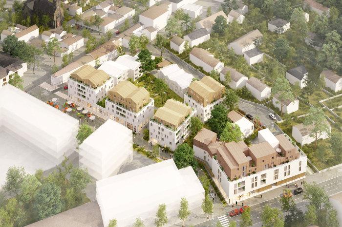 Appartements neufs Les Sorinières référence 5304 : aperçu n°4