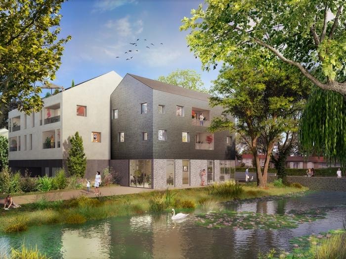 Appartements neufs Haute-Goulaine référence 5322 : aperçu n°3