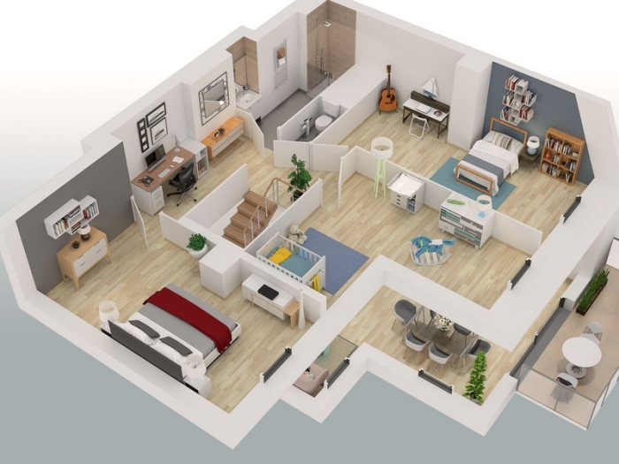 Appartements neufs Sucé-sur-Erdre référence 5372 : aperçu n°1