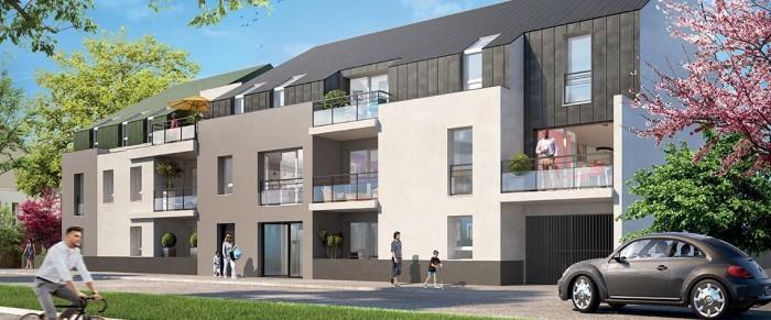 Appartements neufs Erdre référence 4105 : aperçu n°0