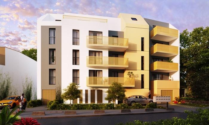 Appartements neufs Saint-Herblain référence 4306 : aperçu n°0