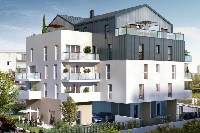 Appartements neufs Saint-Herblain référence 4310 : aperçu n°2