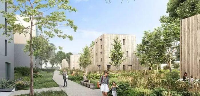 Maisons neuves et appartements neufs Longchamp rond-point-de-vannes référence 4315 : aperçu n°2