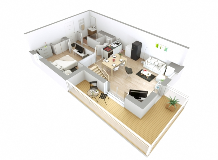 Appartements neufs Erdre référence 4329 : aperçu n°2