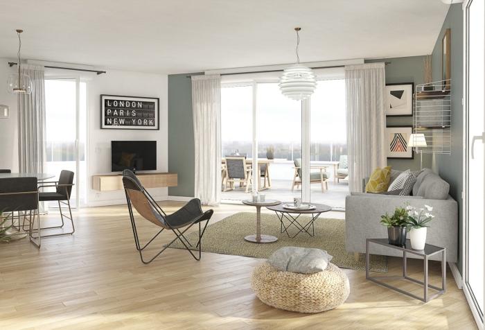 Appartements neufs Vertou référence 4330 : aperçu n°1