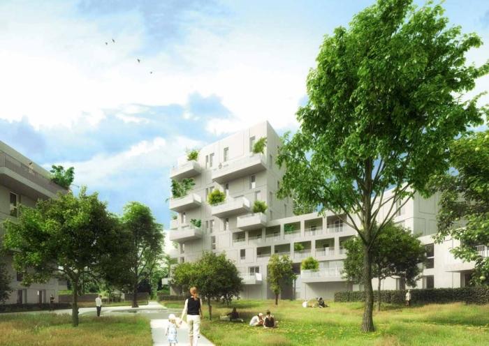 Appartements neufs Saint-Herblain référence 4331 : aperçu n°4