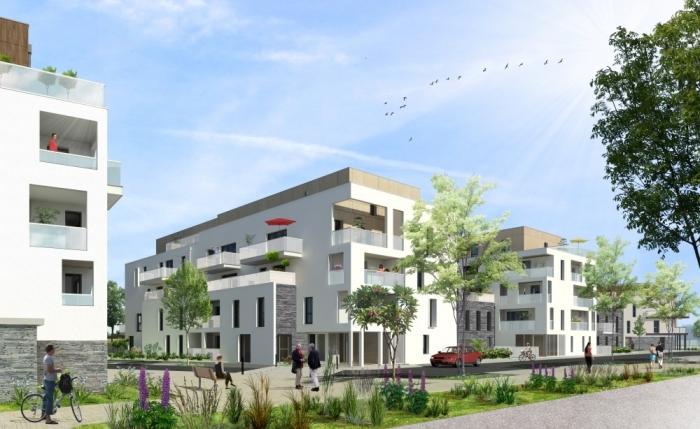 Appartements neufs Les Sorinières référence 4371 : aperçu n°0