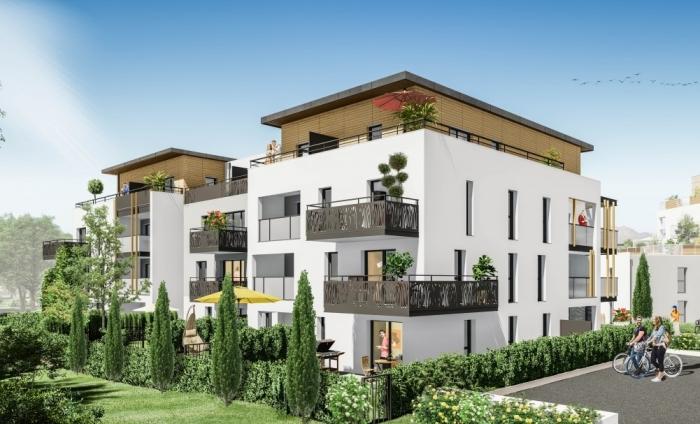 Appartements neufs Les Sorinières référence 4371 : aperçu n°2