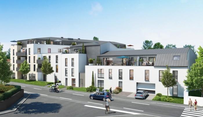 Appartements neufs Saint-Sébastien-sur-Loire référence 4404 : aperçu n°2