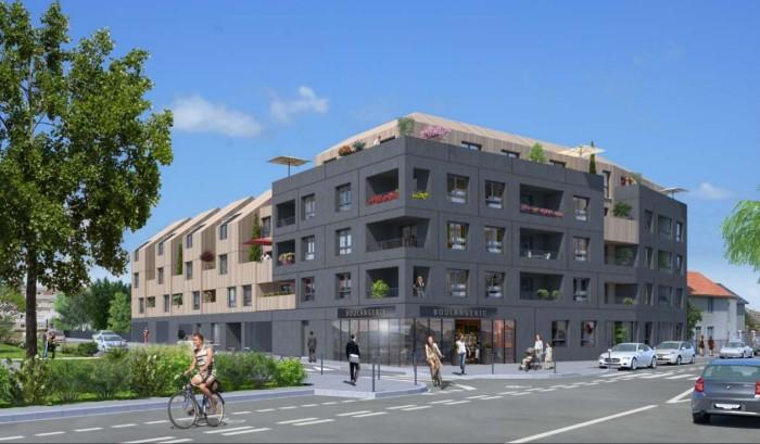 Appartements neufs Doulon référence 4413 : aperçu n°2