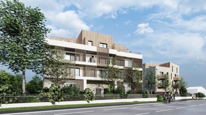 Appartements neufs Vertou référence 4459 : aperçu n°2