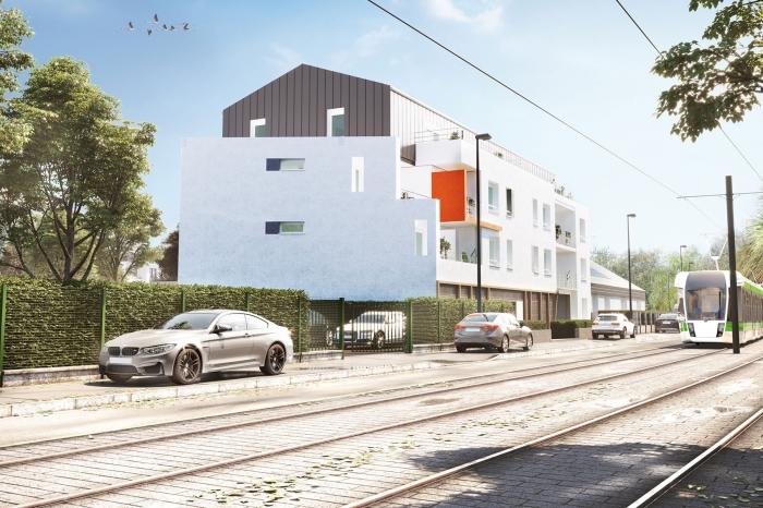 Appartements neufs Hippodrome Petit Port référence 4460 : aperçu n°0