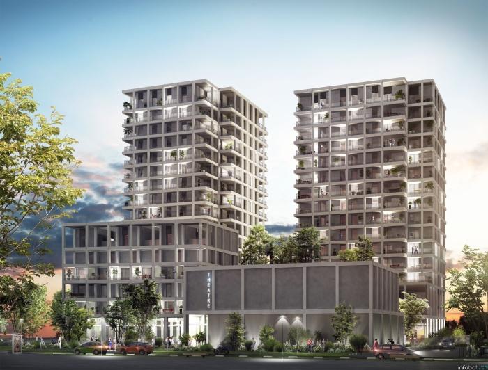 Appartements neufs Île de Nantes référence 4582 : aperçu n°0