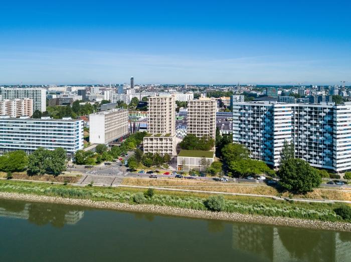 Appartements neufs Île de Nantes référence 4582 : aperçu n°2