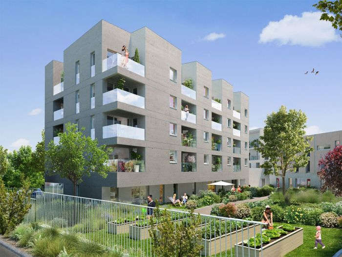 Appartements neufs Erdre référence 4625 : aperçu n°0