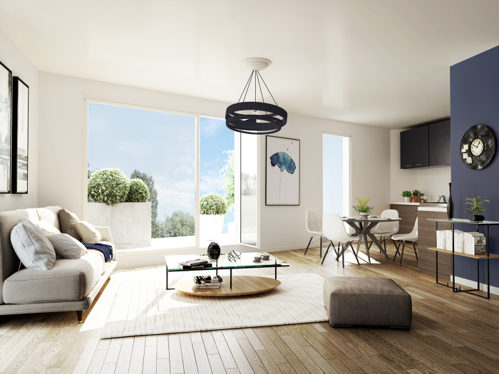 Appartements neufs Erdre référence 4625 : aperçu n°1