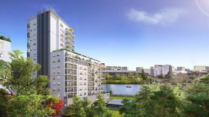 Appartements neufs Saint-Donatien référence 4628 : aperçu n°3