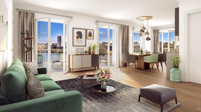 Appartements neufs Saint-Donatien référence 4628 : aperçu n°2