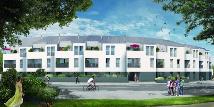 Appartements neufs Carquefou référence 4696 : aperçu n°2