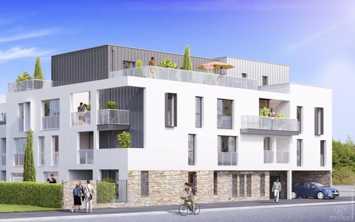 Appartements neufs Les Sorinières référence 4702 : aperçu n°0