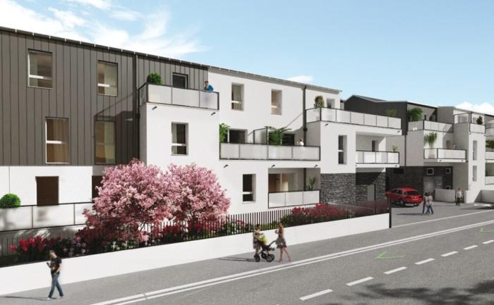 Appartements neufs Carquefou référence 4881 : aperçu n°0