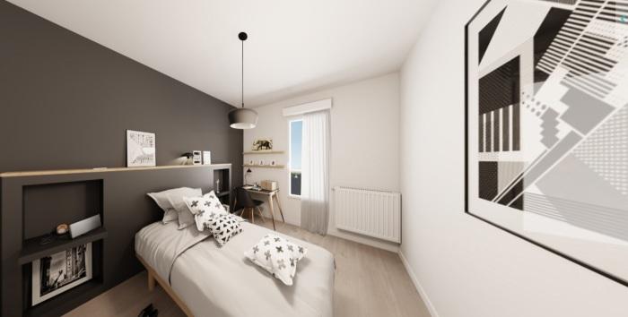 Appartements neufs Carquefou référence 4881 : aperçu n°4