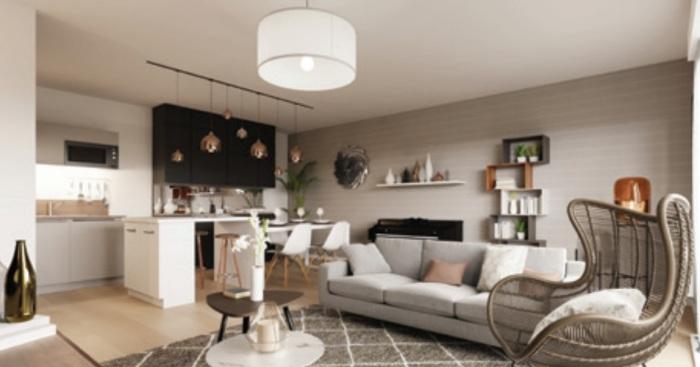 Appartements neufs Vertou référence 4883 : aperçu n°2
