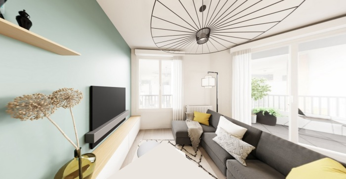 Appartements neufs Saint-Herblain référence 4885 : aperçu n°1
