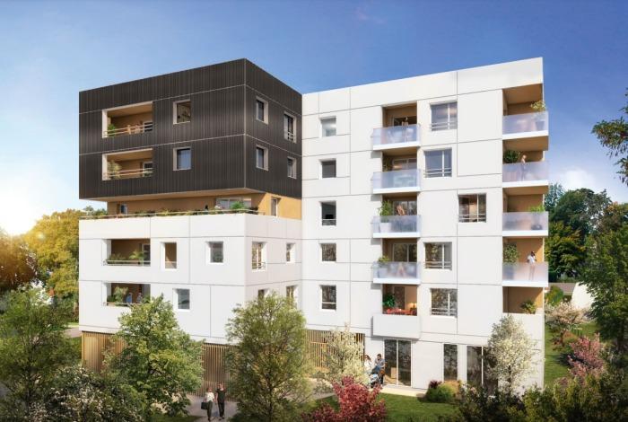 Appartements neufs Hippodrome Petit Port référence 4777 : aperçu n°0