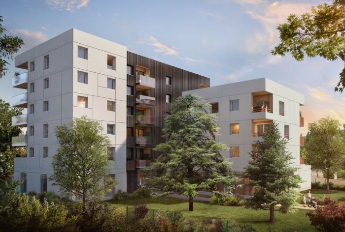 Appartements neufs Hippodrome Petit Port référence 4777 : aperçu n°2