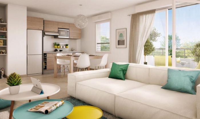Appartements neufs Hippodrome Petit Port référence 4777 : aperçu n°1