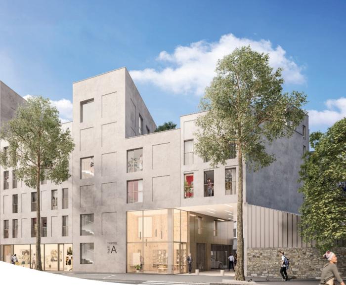 Appartements neufs Île de Nantes référence 4887 : aperçu n°0