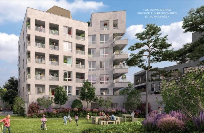 Appartements neufs Île de Nantes référence 4887 : aperçu n°4