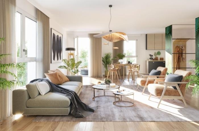 Appartements neufs Doulon référence 4888 : aperçu n°1