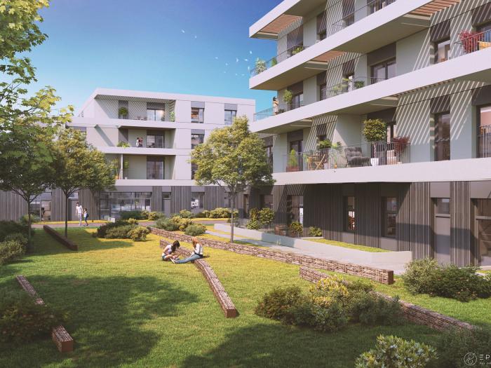 Appartements neufs Saint-Herblain référence 4889 : aperçu n°0